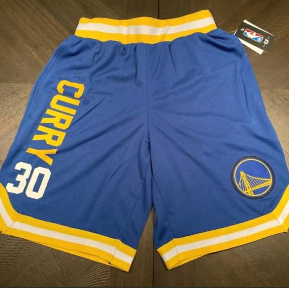 NBA Golden State Warriors Curry Shorts